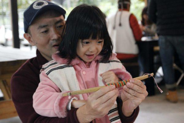 泰雅小竹弓製作
