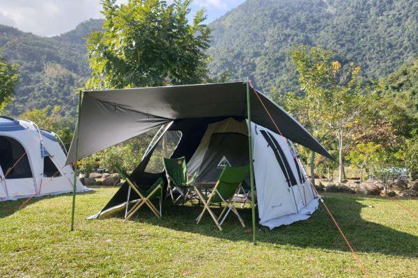 泰雅圖騰帳空手露營
